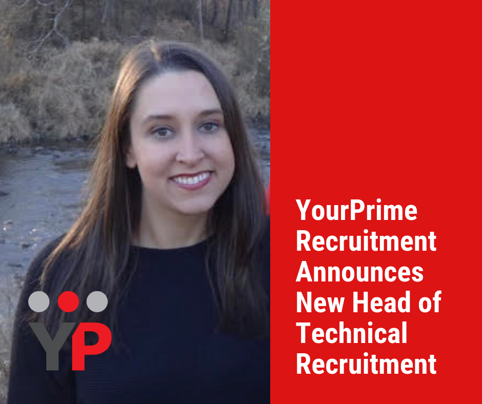 YourPrime Recruitment Announces New Head of Technical Recruitment